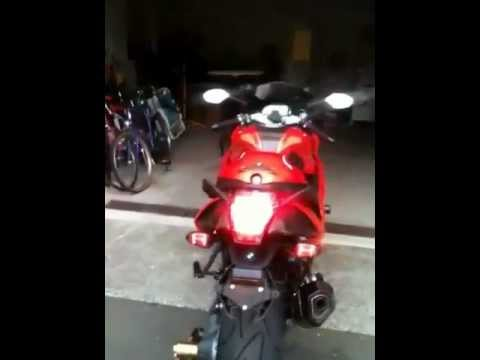 BMW K1300S with LED Roundels