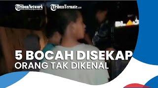 5 Bocah di Aceh Utara Disekap oleh Orang Tak Dikenal, Diancam Pakai Pisau hingga HP Dirampas