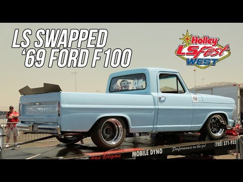 LSA 5.3 Swapped '69 Ford F100 at LS Fest West 2019