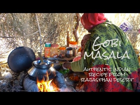 Gobi masala // Cauliflower curry // Authentic Indian video recipe from a desert in Rajasthan