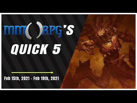 BlizzConline's World of Warcraft and Diablo Reveals Top This Week's News | Quick 5