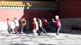 Video : China : Tai Chi in JingShan Park, Beijing 北京