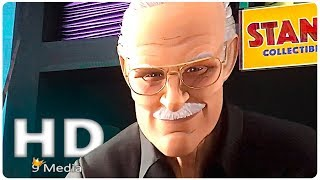 Spider-man: Into The Spider Verse | Stan Lee Cameo (2018) New Superhero Animation Movies HD