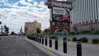 Las Vegas Strip Harmon Going South April 12 2020