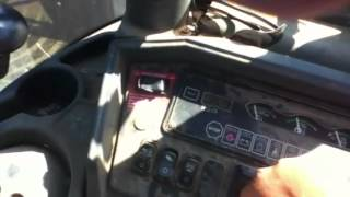 How to operate a backhoe