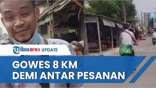 Viral Kisah Driver Ojol Gowes Sepeda 8 Km Demi Antar Makanan ke Pelanggan, Motor Ditarik Leasing