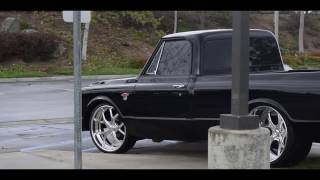 C10 On 24x15 Specialty Forged Wheels