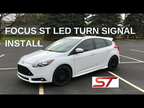 Ford Focus ST LED Turn signal install