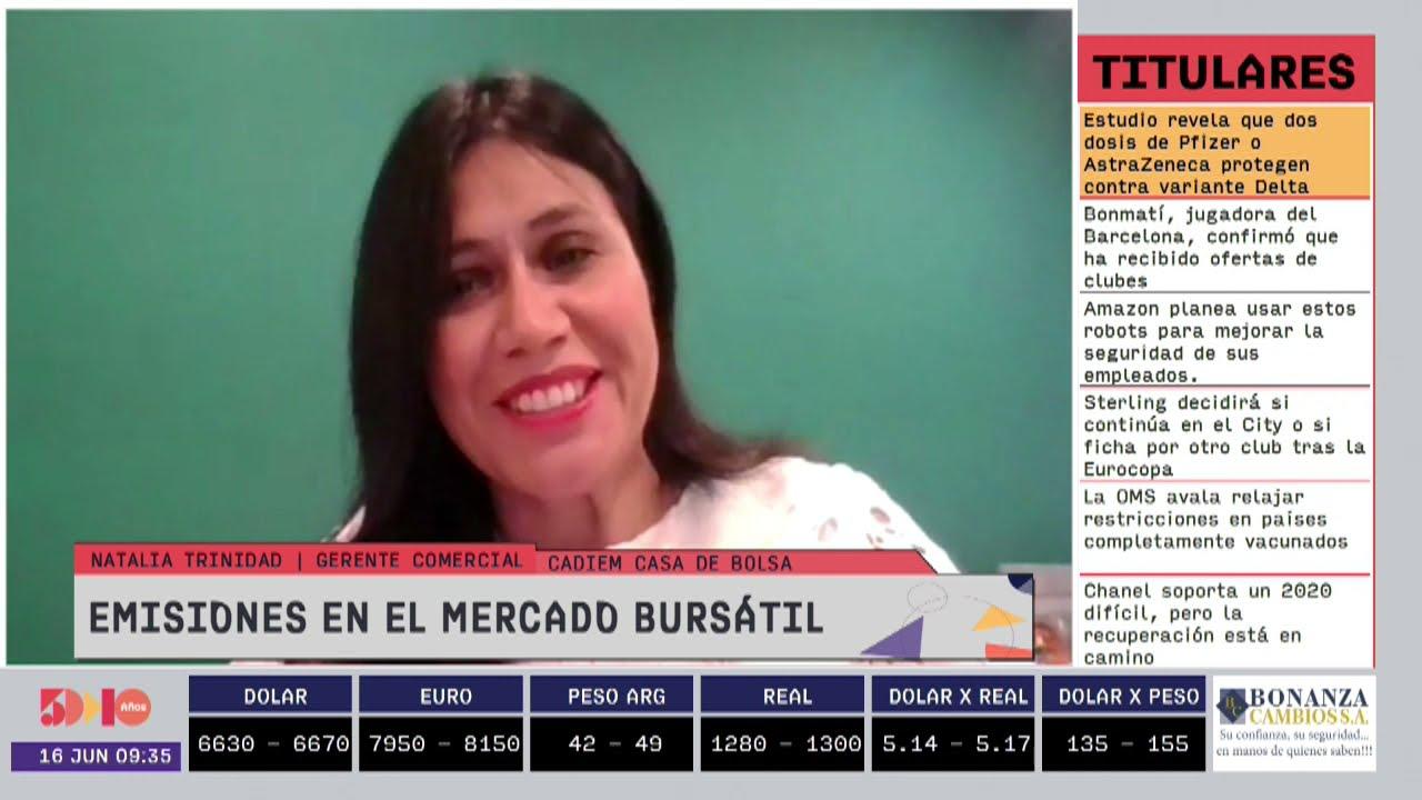 Natalia Trinidad - Emisiones en el mercado bursátil