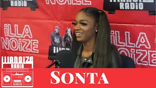 Sonta talks going viral, losing boyfriend due to gun violence, G Herbo and more | iLLANOiZE Radio