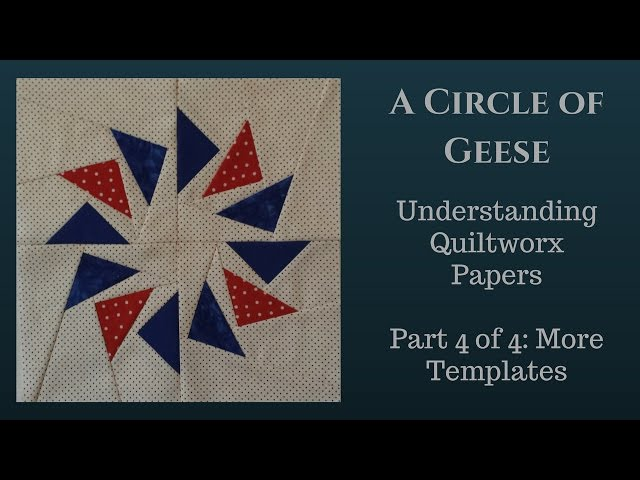 Quiltworx Papers 4 of 4
