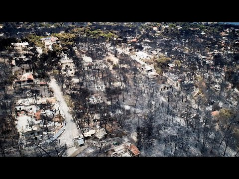 93 οι νεκροί από τη φωτιά- Το νέο σχέδιο για την Πολιτική Προστασία…