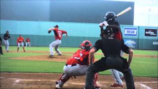 Boston Red Sox prospect Michael Kopech pitching in Instructional league