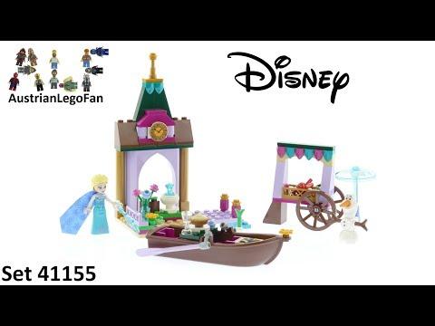 Vidéo LEGO Disney 41155 : Les aventures d'Elsa au marché