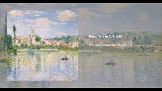 Piano Trio in C major, K. 548