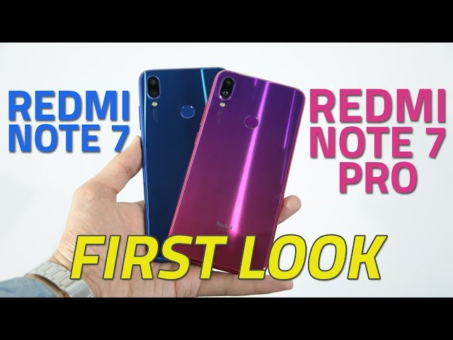Redmi Note 7 Pro With Snapdragon 675 SoC, 48-Megapixel