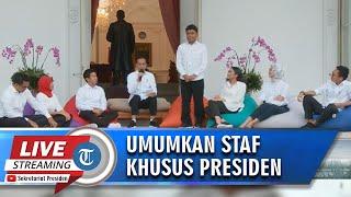 BREAKING NEWS - Video Jokowi Perkenalkan Kaum Milenials Jadi Staf Khusus Presiden, Ini Dia Mereka