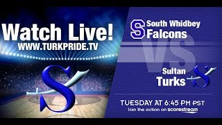 Boys Basketball!  Sultan vs South Whidbey