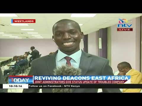 Joint administrators give status update of troubled Deacons EA