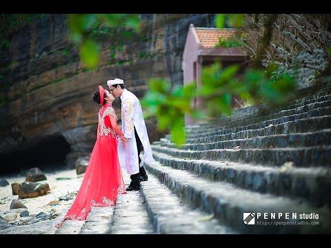 Clip cưới Flycam Lý Sơn đẹp tuyệt vời