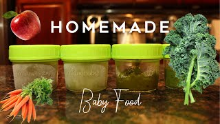 How To Make Baby Food: Stage 2| Myesha Skye