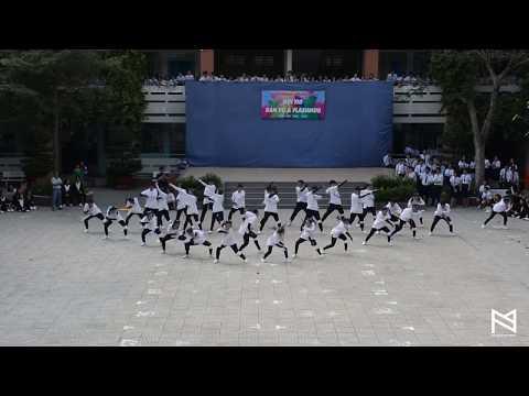 Đoàn trường THPT Phú Nhuận: HỘI THI DÂN VŨ VÀ FLASHMOB
