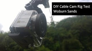 preview picture of video 'Woburn Sands - DIY Cable Cam Test'