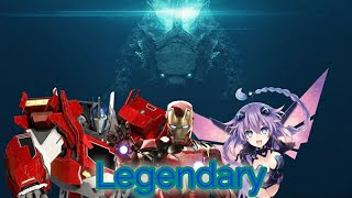 Godzilla, Optimus Prime, Iron Man And Neptune Tribute (Skillet   Legendary)