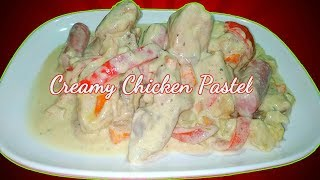 Creamy Chicken Pastel