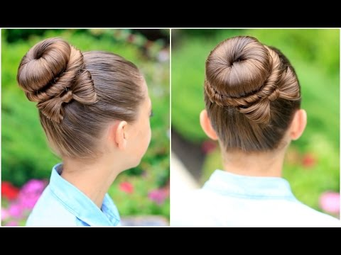 How to Create a Bow Bun   Prom Hairstyles