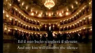 Paul Potts   Nessun Dorma Lyrics + Eng. Translation