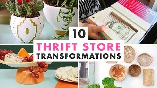 10 Thrift Store Transformations To Try This Weekend - HGTV Handmade