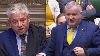 """BREXIT: Speaker Bercow loses it when Ian Blackford brands PM May """"a LIAR"""" (12th February 2019)"""