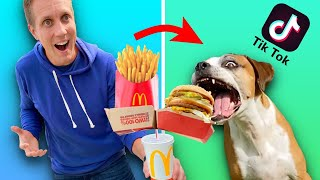 Testing VIRAL TikTok Life Hacks for dogs! ** They work **