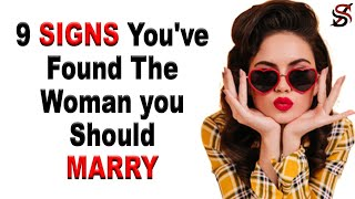 10 Signs You've Found the Woman You Should Marry