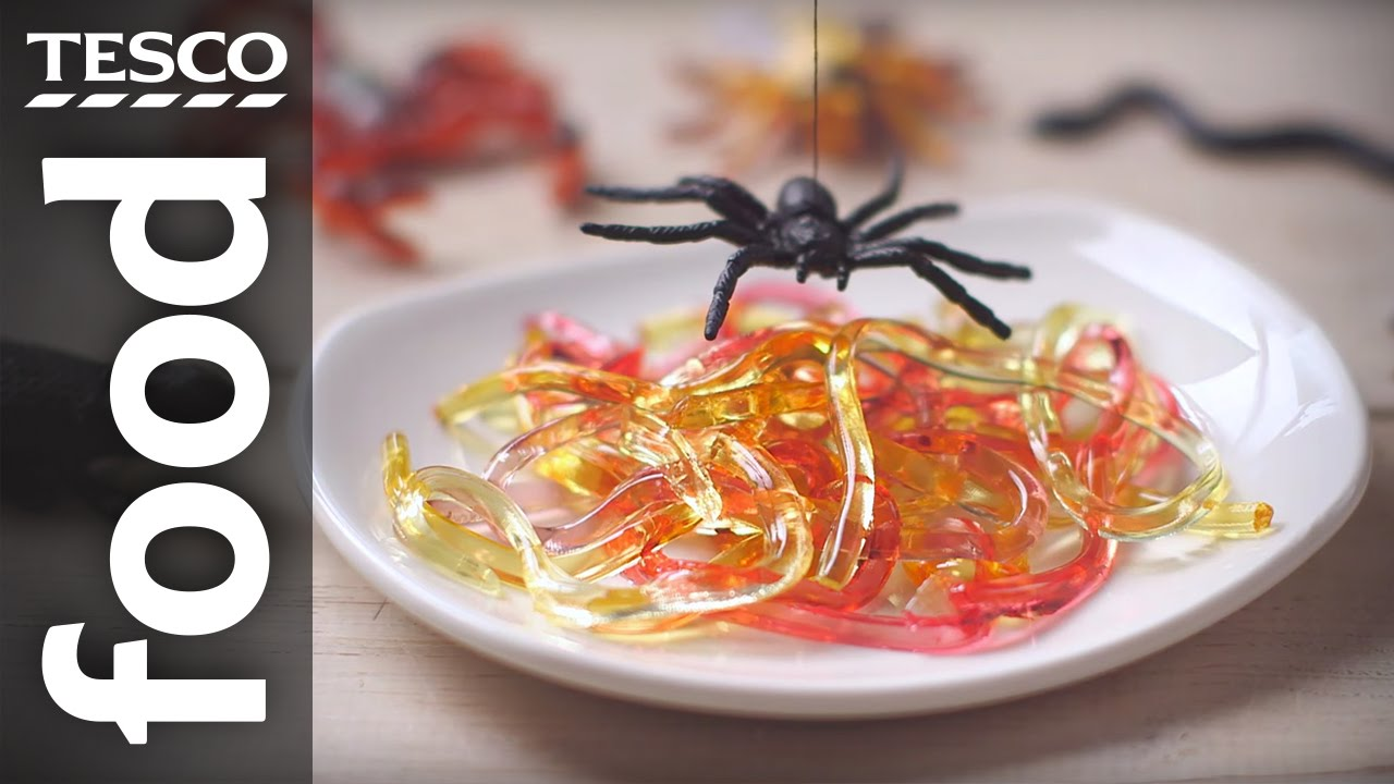 How to make Halloween jelly worms