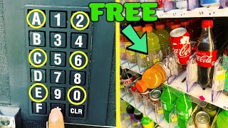 Testing Vending Machine SECRET CODES (Do They REALLY Work?)