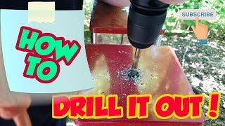 How To Drill Out A Candy / Gumball Machine Lock!