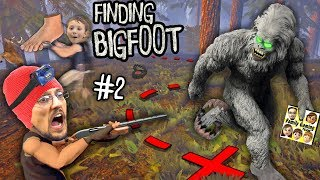 BIG FOOT RETURNS! MONSTER HUNTER & TRACKER GAMEPLAY! + DOOFY DEER (FGTEEV FINDING BIGFOOT #2)
