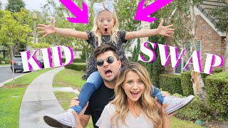 DAY with Everleigh SWITCHING KIDS!