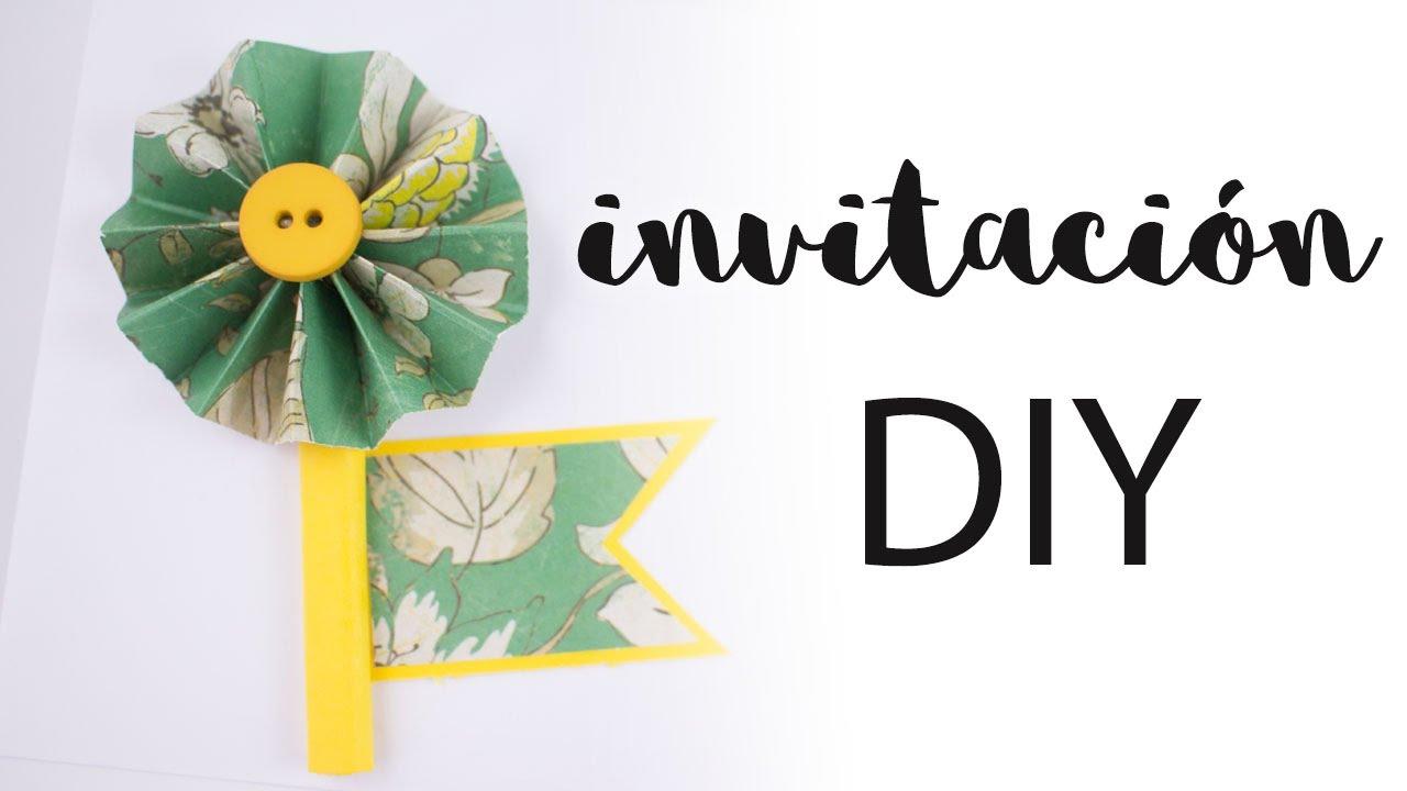 Invitación DIY | Cómo hacer una invitación para una ocasión especial | Cómo forrar sobres
