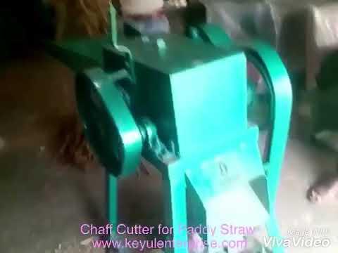Horizontal Chaff Cutter