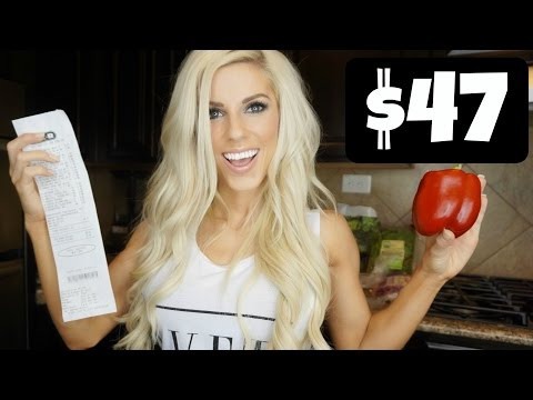 Video EATING HEALTHY ON A BUDGET | $47