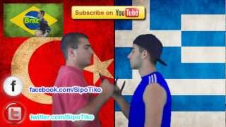 Greece vs. Turkey | Immortal Rap Battles Of Nations #6