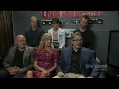 Breaking Bad - Comic-Con 2013 - Cast Interview with EW