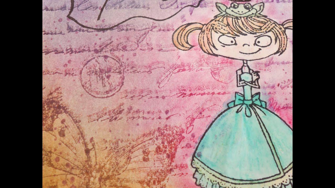 Cuaderno de dibujo. Principe y princesa.