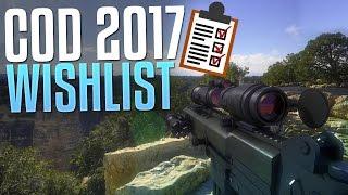 CoD 2017 Wishlist! (MWR Gameplay Commentary)