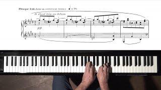 "Ravel ""Valses Nobles et Sentimentales No.5"" + Slow Tempo Tutorial"