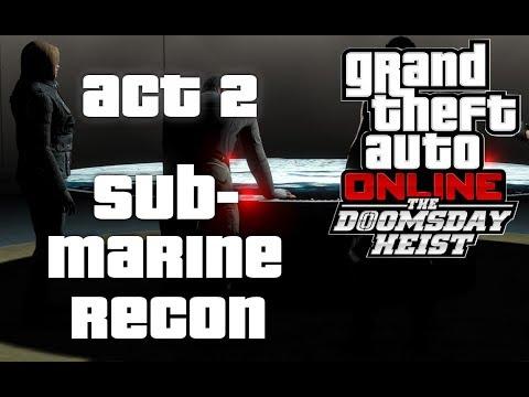 Download Nuclear Submarine Heist Gta 5 Doomsday Heist Video 3GP Mp4