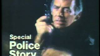 NBC Police Story 1977 TV promo